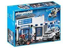 PLAYMOBIL® 9372 Polizeistation mit Fahrzeug + Hubschrauber City Action NEU & OVP