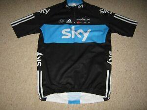 Team Sky Pinarello Genuine Adidas cycling jersey [XL]