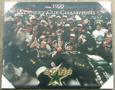Dallas Stars 1999 Stanley Cup Championship Picture Plaque (Ice)