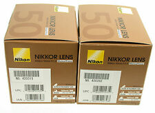 NIKON 1,2/50 50mm 50 1,2 F1,2 AiS MF Nikkor adaptable NEX MFT A7 NIB neu OVP