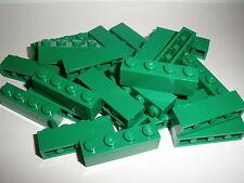 LEGO City 25 pièces de construction 3010 vert / DARK GREEN 1x4