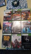 Xbox 360 Games Bundle, NFS The Run, Stranglehold, Gears of War, Fallout 3 + More