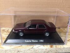 "DIE CAST "" LANCIA THEMA - 1984 "" + TECA RIGIDA BOX 2 SCALA 1/43"