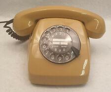 BT Deutesche Post FeTAp 611-2a Wählscheibentelefon Wählscheibe Phone Beige Braun
