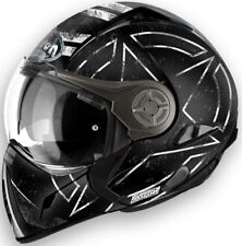 Casco helmet CROSSOVER OMOLOGAZIONE P/J airoh j106 command nero opaco taglia XL