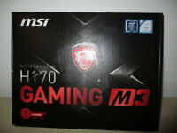 PLACA BASE / MOTHERBOARD MSI GAMING M3 H170