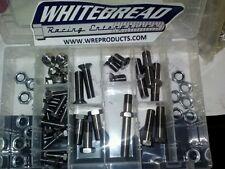 Sprint Car, titanium front end kit, one nut pins, countersunk bolt, hex f/s