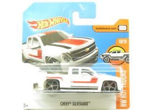 Hotwheels Chevy Silverado HW Hot Trucks 60/365 Short Card 1 64 Scale Sealed New