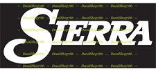 Sierra Bullets - Hunting & Shooting - Vinyl Die-Cut Peel N' Stick Decals