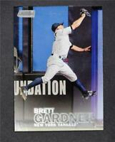 2016 Stadium Club #31 Brett Gardner - NM-MT