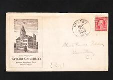 Taylor University Upland Indiana 1910 Emma Gaddes Massillon Ohio Z52