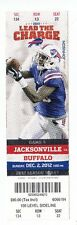 2012 BUFFALO BILLS VS JACKSONVILLE JAGUARS TICKET STUB 12/212 STEVIE JOHNSON