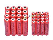 16x AA 3000mAh +16x AAA 1800mAh 1.2V NI-MH recargables batería 2A 3A rojo color