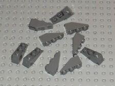 10 x LEGO DkStone Slope Brick ref 4287 / Set 10195 7675 7680 7036 7673 8033 7669