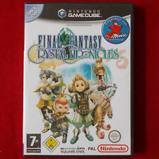 Nintendo GameCube ► Final Fantasy: Crystal Chronicles ◄ WII | GC | TOP