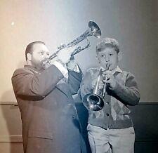 *RARE* 1960's Historic Photo Negative of Musician Al Hirt Trumpet Player #D