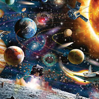 Modern 1000 Piece Space Puzzle Kids Adult ,Planets in Space Jigsaw Puzzle New