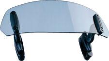 PUIG CLIP-ON WINSHIELD VISOR CLEAR 250X100MM