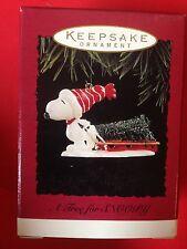 HALLMARK 1996 PEANUTS A TREE FOR SNOOPY