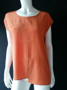 LUISA CERANO Top Shirt Seide/Viskose Gr.38,40--UK12,14***NEU