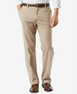 Dockers Men's Easy Khaki Classic Fit Stretch Pants Timber Wolf 34/30 or 34/34