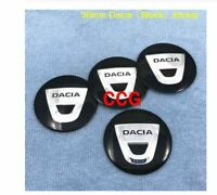 4pcs 56mm Dacia Duster Logan MCV 56mm Dacia sticker 2