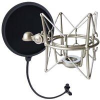 KEEPDRUM MS088 Mikrofon Spinne für Rode Mikrofone + Popschutz EMH