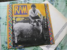 """Paul McCartney, """"RAM"""" FIRST 1971 UK ISSUE IN EX CONDITION -1 -1 MATRICES"""