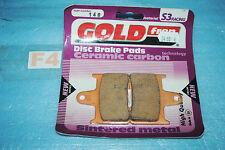 2 plaquettes de frein Arr. GOLDFREN Suzuki GSXR 600 750 1000 GSX 1400 Bandit 650
