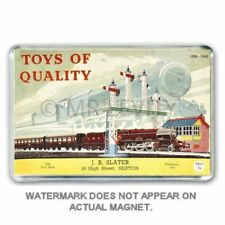 "Meccano ""Toys of Quality"" 1939-1940 Catalogue HORNBY DUBLO JUMBO FRIDGE  MAGNET"