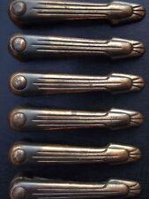 Copper Art Deco Antique Stair & Carpet Rods