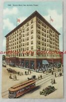 Vintage Postcard early 1900s Gunter Hotel San Antonio Texas TX PC