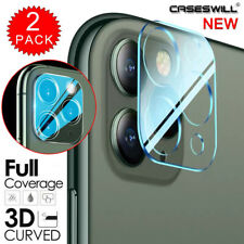 For iPhone 12 mini 11 Pro Max Clear Tempered Glass Camera Lens Screen Protector
