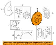 GM OEM Front Brake-Disc Rotor 94775725