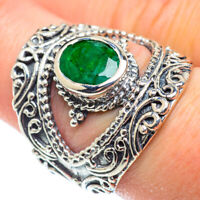 Green Sillimanite 925 Sterling Silver Ring Size 8.75 Ana Co Jewelry R52024F