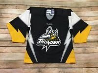 Stockton Thunder Reebok Jersey Islanders ECHL Hockey Sewn Youth Small Womens XS