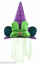 New Disney World Halloween Minnie Mouse Witch Hat Costume Parks Exclusive