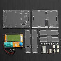 Mega328 LCR-T4 Transistor Tester Diode Triode Capacitance ESR Meter And Case UK