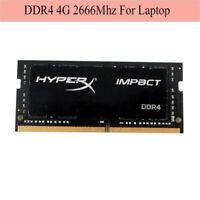 Pour Kingston HyperX Impact 4GB 8GB 16GB DDR4 2666Mhz PC4-21300 Laptop Memory