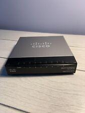 Cisco Business SG200-08 8-Port Gigabit Smart Switch (SLM2008PT) TESTED