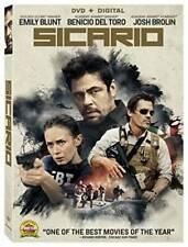 Sicario [DVD + Digital] - DVD By Emily Blunt - VERY GOOD