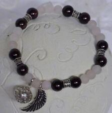 Armbänder mit Granat-Echtschmuck aus Sterlingsilber für Damen