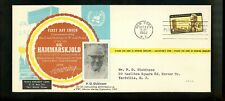 US FDC #1203 Texas Refinery M-33 1962 NY Dag Hammarskjold UN United Nations