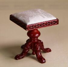 Jiayi Dollhouse Miniature Furniture Chair 1/12 scale Music Room Harp Stool