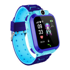 Niños Reloj inteligente Kids Smartwatch Pantalla táctil con GPS GSM Ubicación