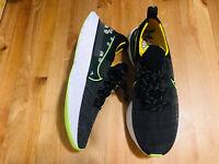 Nike React Infinity Run Flyknit Daisy athletic shoes black CW5573-001 NWOB sz 13