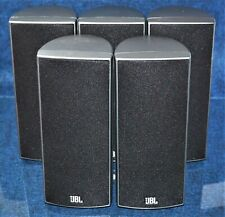 JBL Surround Sound Home Theater Speaker Replacement Set 160SISAT Silver / Grey