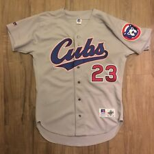 NEW vintage Chicago Cubs Ryne Sandberg jersey sz 44 L Russell Diamond Collection