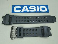 Genuine Casio G-Shock Gulfman GR-9110GY resin rubber watch band strap gray