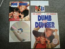 Dumb And Dumber Laserdisc With rare posters and window sticker